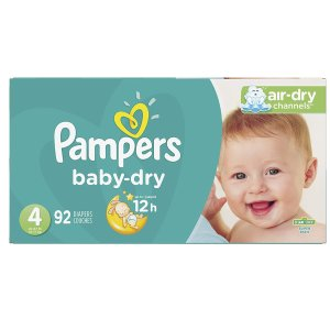 Pampers Cruisers Baby Dry Diapers