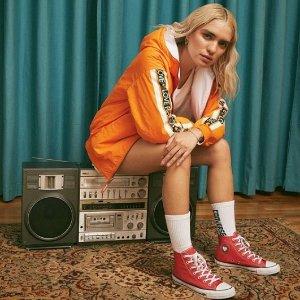 低至5折+包邮Converse官网 特价区复古帆布鞋、运动服饰上新