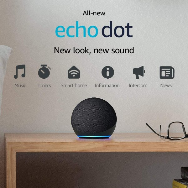 Echo Dot 第4代 家庭智能助手音箱