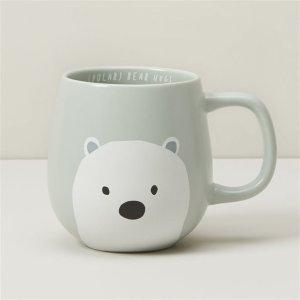 Indigo北极熊拥抱杯