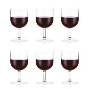 Bodum防碎材质 不会破裂OKTETT红酒杯 6件