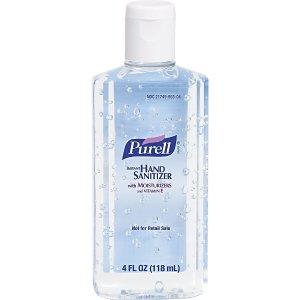 $57.79+免邮 每瓶$2.4Purell 抗菌滋润免洗洗手液 4oz x 24瓶