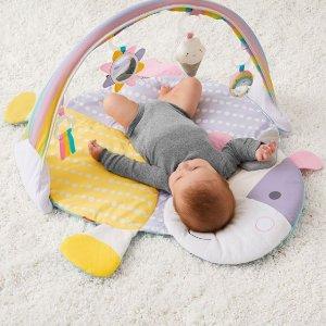 $39.9 (原价$60) 包邮SKIP HOP 熏衣紫独角兽造型婴儿健身垫 高颜值超萌