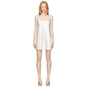 La PerlaWhite Silk 白色丝绸裙