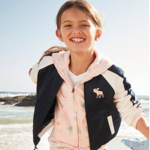 Today Only: 40%-60% OffAll Kids Clearance @ abercrombie kids