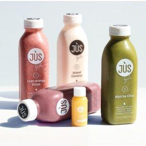 $66+免邮 植物代餐系列全线8.5折上新:Jus By Julie 2日清肠蔬果汁套餐大促 更有代餐系列上线