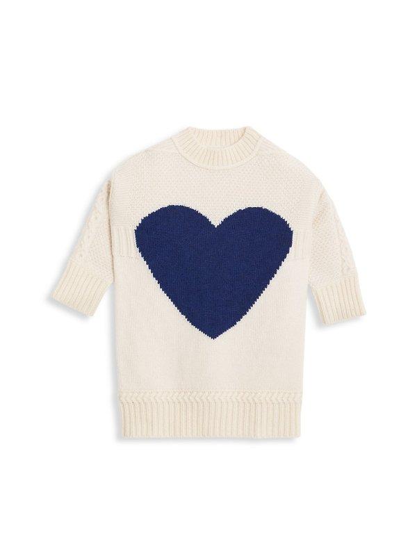 女童羊绒羊毛混纺毛衣