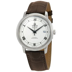 OmegaDe Ville Automatic Silver Dial Men's Watch