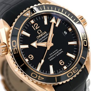 Extra $5000 OffOMEGA Seamaster 18kt Rose Gold Automatic Men's Watch
