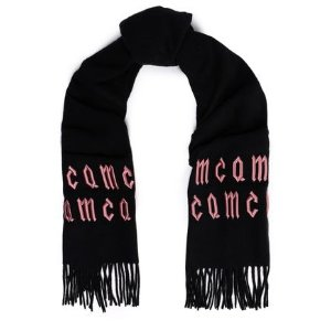 MCQ ALEXANDER MCQUEENEmbroidered wool scarf