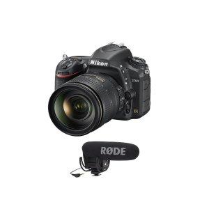 $1796.95 送Rode定向MicNikon D750 DSLR + 24-120mm f/4G ED VR 镜头