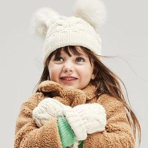 全站5折+额外9折+免邮Gap 儿童服饰网络星期一促销 全站正价特价区服饰都参加