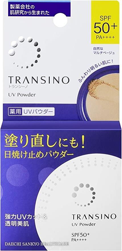 Transino 防晒粉饼