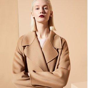 85折 £216收毛衣Max Mara 精选大衣毛衣大促 保暖扮美两不误