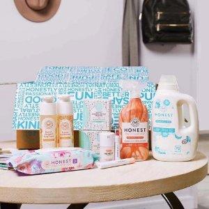 低至7.5折 宝宝孕妇都适用The Honest Company 母婴用品、护肤品、日用品等促销