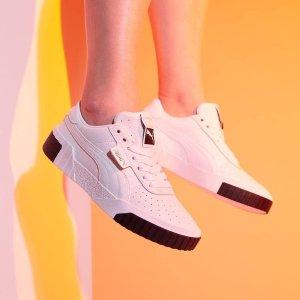 Puma Cail粉底黄金码¥469年年夏天离不开的小白鞋7.8折精选,收匡威、万斯、Fila