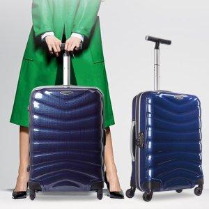低至3折+买一送一,$80收28寸行李箱独家:新秀丽官网箱包大促,明星同款黑标Firelite仅$220