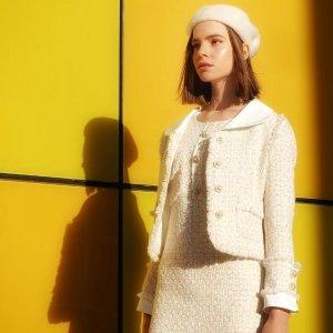 £89收封面款当季最in黄色花呢套装上新:MissLondoner 英国设计师品牌美衣独家上新热卖