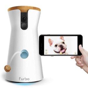 $139史低价:Furbo 智能宠物零食投喂互动摄像头 可用Alexa控制