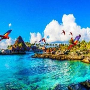 From $70Mexico Cancun Xcaret Theme Park Tickets