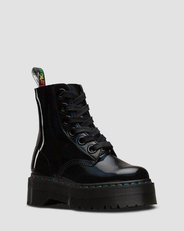 厚底马丁靴