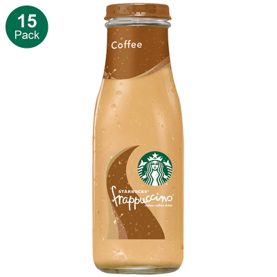 $15.19Starbucks Frappuccino, Coffee, 9.5 Fl. Oz (15 Count) Glass Bottles