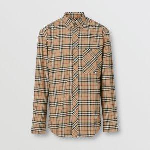 Burberry经典格子衬衣