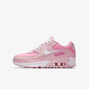 Nike樱花粉Air Max 90 大童鞋