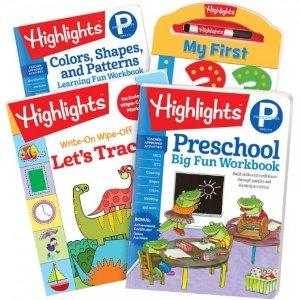 Highlights幼儿园返校练习册