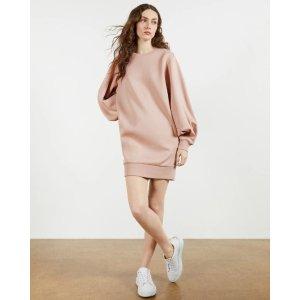 Ted Baker藕粉色连衣裙