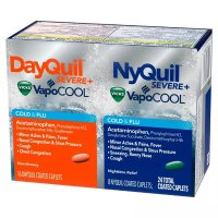 Vicks DayQuil & NyQuil 重症感冒胶囊