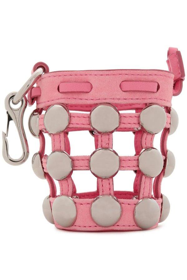 Mini Roxy studded 水桶包挂饰
