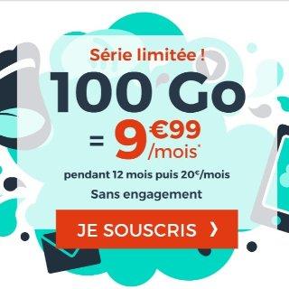 €9.99享受每月100G流量Cdiscount mobile 超值手机套餐再次来袭
