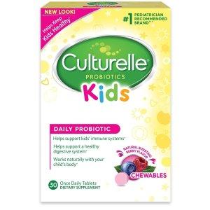 $14.06+包邮Culturelle Kids 儿童益生菌咀嚼片 30片