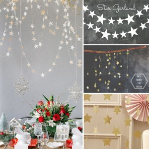 33PC Garlands Candy Bar Bunting Party Wedding Decor paper Banner Babyshower Wreath Slingers Happy Birthday Decoration Supplies-in Banners, Streamers & Confetti from Home & Garden on Aliexpress.com   Alibaba Group