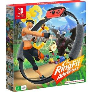 $98(原价$129)补货:《健身环大冒险》Nintendo Switch 必备热游