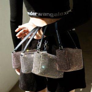 3折起!Logo凉鞋£178Alexander Wang 超强大促 大量热门单品加入 收水钻包、卫衣