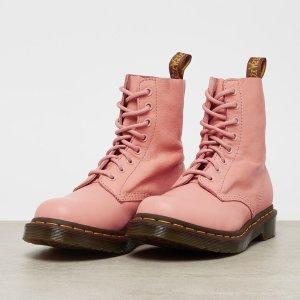仅€119.99 拼手速抢!Dr. Martens 粉色软皮马丁靴 7折热卖 速收溢出来的少女心