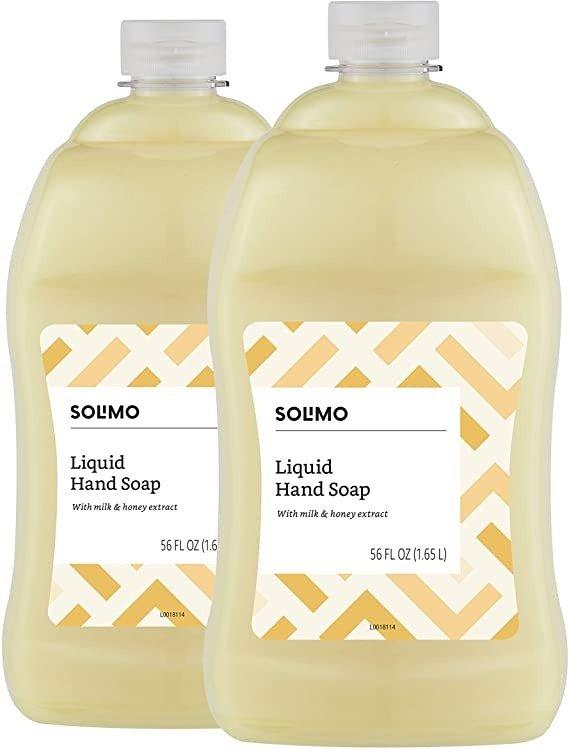洗手液补充装 2瓶 蜂蜜牛奶香
