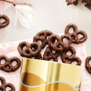 最高立享6折+包邮Godiva 黑巧克力Pretzels礼盒促销,多买多省,一盒即享7折