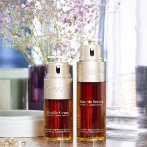 Last Day: Up to 25% offon Double Serum @ Clarins