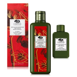 $34 + GiftOrigins 2-Pc. Limited Edition Dr. Andrew Weil For Origins Mega-Mushroom Relief & Resilience Soothing Treatment Lotion Set