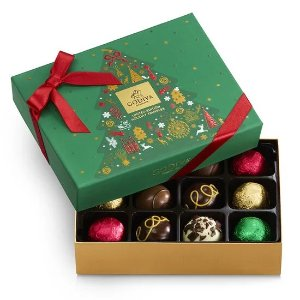 GodivaHoliday Truffle Gift Box, 12 pc.
