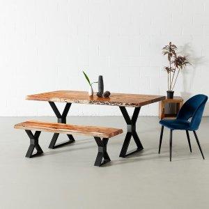 餐桌餐椅7折起 包邮 $85收设计师餐椅Wazo Furniture 高颜值餐厅类家具热卖 给家里增添一份高级感