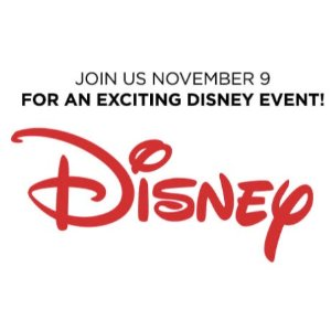 Free! Join Disney EventJCPenney Kids Zone Activity on November 9th, 2019