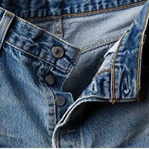 现价$36.72(原价$59.5)Levi's 男士 501 牛仔裤热卖 原汁原味的经典
