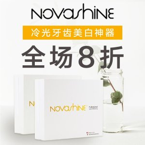 20% Off + Free ShippingDealmoon Exclusive: Novashine Teeth Whitening Kit Sale