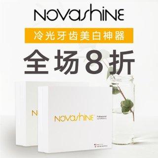 20% Off + Free ShippingDealmoon Exclusive: Novashine Teeth Whitening Kit Sale