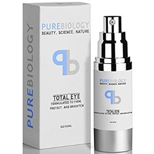 $9.56(原价$23.9) 近期好价闪购:Pure Biology 抗衰老眼霜4折热卖