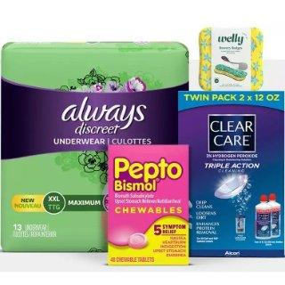 满$20送$5礼卡Target 个人护理用品、保健品等热卖